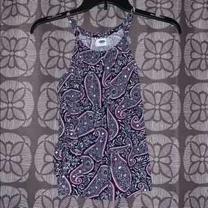 Girls sleeveless Old Navy top size L